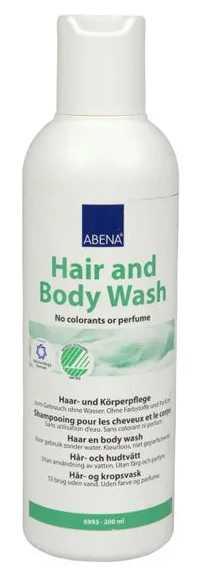 Абена средство моющее для волос и тела 200мл, фото №1