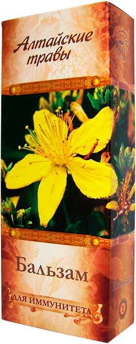 Алтайские травы бальзам n3 иммуномодулирующий 250мл алсу, фото №1