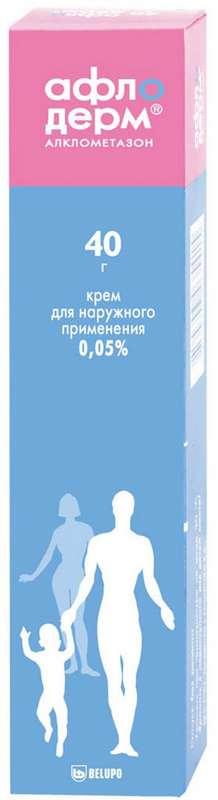 Афлодерм 0,05% 40г крем, фото №1