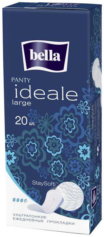 Белла идеале панти прокладки ежедневные ладж 20 шт., фото №1