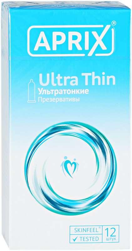 Априкс презервативы ультра тин 12 шт., фото №1