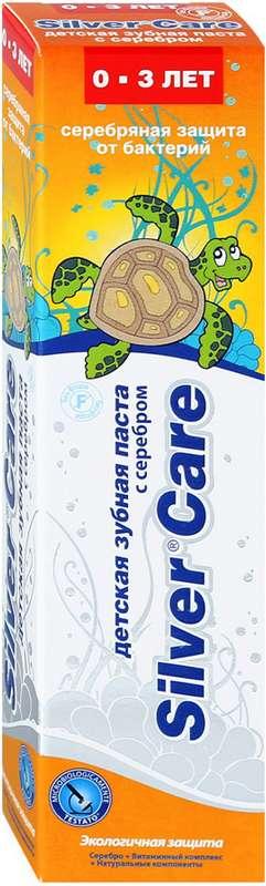 Сильвер кэа бэби зубная паста для детей 0-3 года 30мл, фото №1