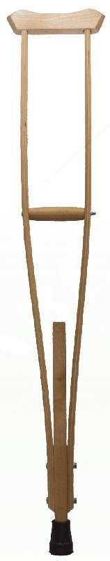 Аверсус костыли деревянные подростковые арт.743п 2 шт., фото №1