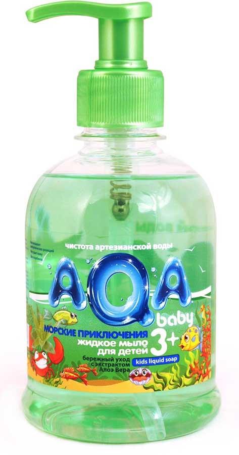 Аква бэби мыло жидкое детское морские приключения 300мл, фото №1