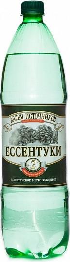 Аллея источников ессентуки вода минеральная газированная №2 1,5л бутылка пэт., фото №1