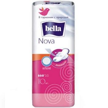 Белла нова прокладки софтиплейт 10 шт., фото №1