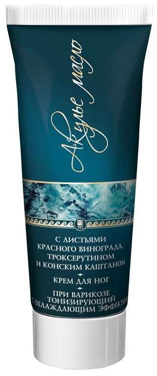Акулье масло крем для ног с листьями красного винограда 75мл, фото №1