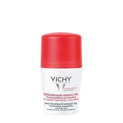 Виши дезодорант шариковый 72часа анти-стресс против избыточного потоотделения 50мл
