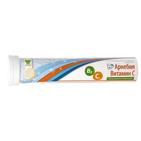 Арнебия витамин c таблетки шипучие 4г 20 шт., фото №1