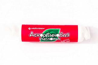 Аскорбиновая кислота 50мг 10 шт. таблетки жевательные крутка