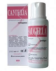 Саугелла полиджин мыло жидкое для интимной гигиены 250мл