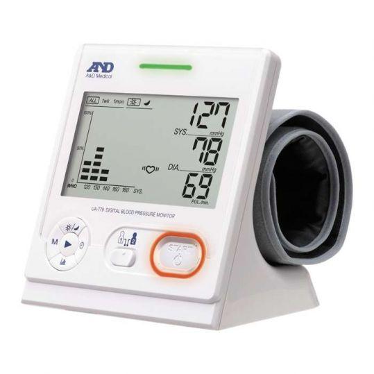 Анд тонометр автоматический ua-779 кардиоцентр для всей семьи с адаптером, фото №1