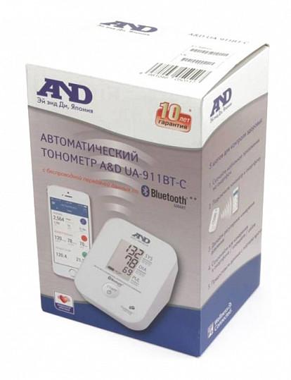 Анд тонометр автоматический ua-911bt-c с передачей данных по блютус, фото №2