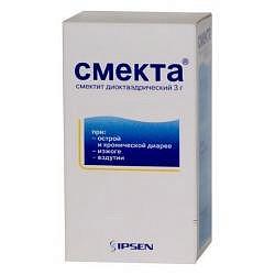 Смекта 3г (3,76г) 10 шт. порошок для приготовления суспензии для приема внутрь ванильный
