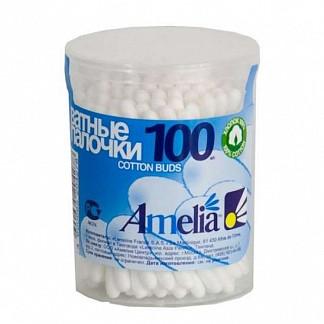 Амелия ватные палочки 100 шт.
