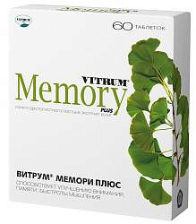 Витрум мемори плюс таблетки 60 шт.