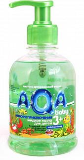Аква бэби мыло жидкое детское морские приключения 300мл