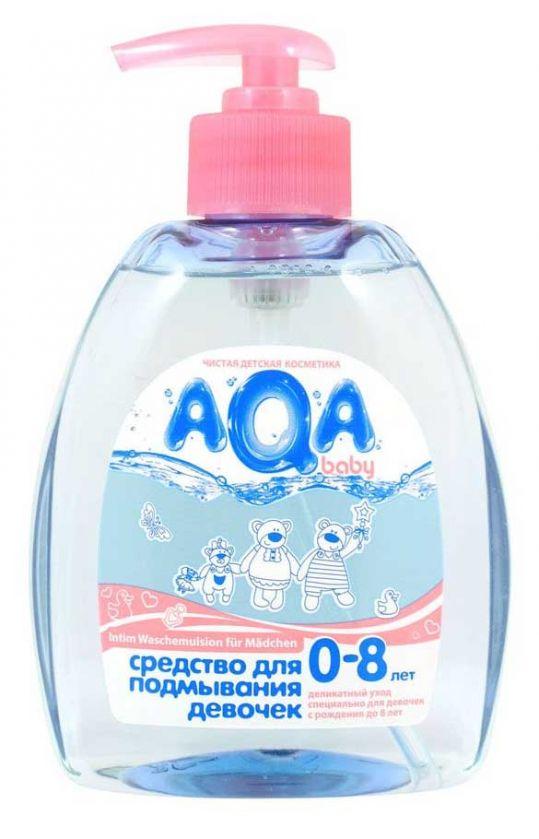 Аква бэби средство для подмывания девочек 300мл, фото №1