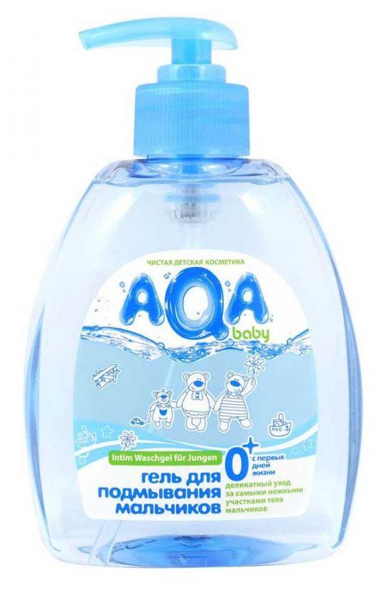 Аква бэби средство для подмывания мальчиков 300мл, фото №1