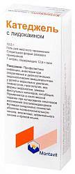 Катеджель с лидокаином 12,5г 1 шт. гель для местного применения шприц