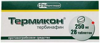 Термикон 250мг 28 шт. таблетки
