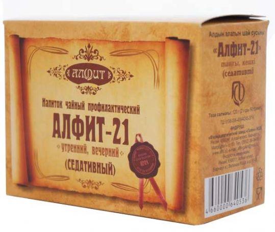 Алфит 21 седативный сбор лекарственный 2г 60 шт., фото №1