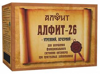 Алфит 26 профилактика осложнений орви сбор лекарственный 2г 60 шт.