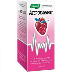 Атероклефит 100мл экстракт для приема внутрь жидкий