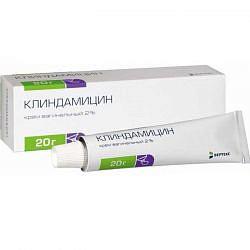 Клиндамицин 2% 20г крем вагинальный с аппликатором
