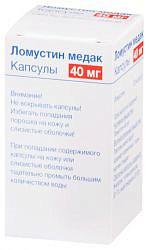 Ломустин медак 40мг 20 шт. капсулы
