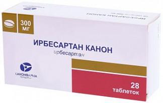 Ирбесартан-канон 300мг 28 шт. таблетки