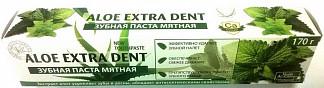 Алоэ экстра дент зубная паста защита от зубного камня мятная 170г