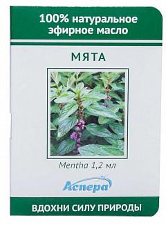 Аспера масло эфирное мята (миниатюра) 1,2мл