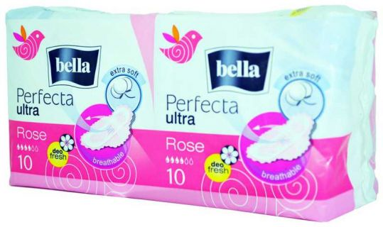 Белла перфекта ультра прокладки розе део фреш 20 шт., фото №1