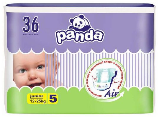 Белла панда подгузники джуниор 12-25кг 36 шт., фото №1