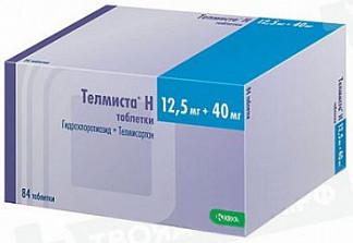 Телмиста н 12,5мг+40мг 84 шт. таблетки