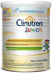 Клинутрен юниор смесь для энтерального питания с пробиотиками и пещевыми волокнами ваниль 400г