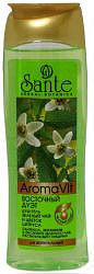 Кора сантэ гель для душа восточный дуэт зеленый чай и цветок цитруса 250мл