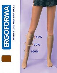 Эргоформа гольфы арт.301 размер 5 телесный для женщин