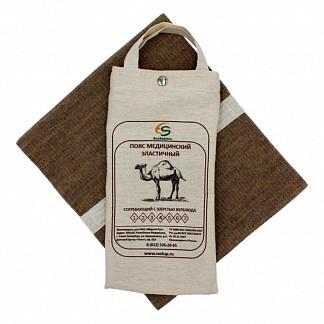 Альмед пояс эластичный согревающий с шерстью верблюда размер 3/м (76-81см)