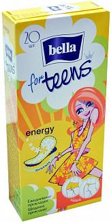 Белла фо тинс прокладки ежедневные энерджи део 20 шт.
