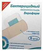 Пластырь верофарм набор бактерицидный 8 шт. бежевый