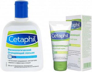 Сетафил набор (лосьон физиологический очищающий 235мл + крем улажняющий защитный 50мл)