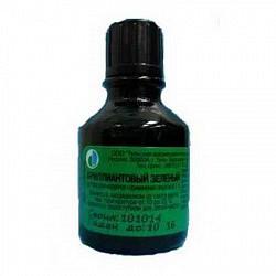 Бриллиантовый зеленый 1% 25мл раствор для наружного применения спиртовой