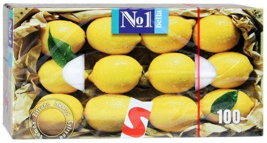 Белла платочки универсальные лимон 100 шт., фото №1