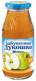 Бабушкино лукошко сок яблоко 4+ с мякотью без сахара 200мл