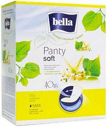 Белла панти софт прокладки ежедневные липа 40 шт.