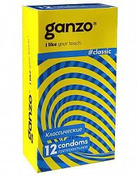 Презервативы ганзо классик 12 шт.