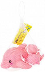 Курносики игрушка для ванны семейка дельфинов арт.25075