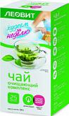 Леовит биослимика чай похудин очищающий комплекс 2г 25 шт. фильтр-пакет